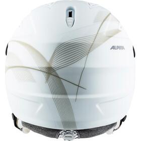 Alpina Grap Visor 2.0 HM Casco de esquí, white-prosecco matt